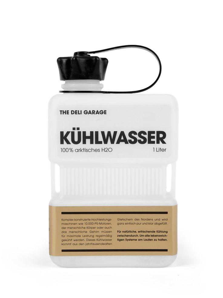 Kühlwasser (Cooling Water) | Designer: Design Made in Germany - http://www.designmadeingermany.de | Client: The Deli Garage - http://www.the-deli-garage.com