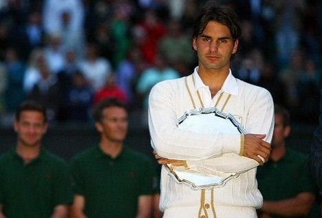 Wimbledon 2008 - When he lost to Rafa in an epic final by chasity