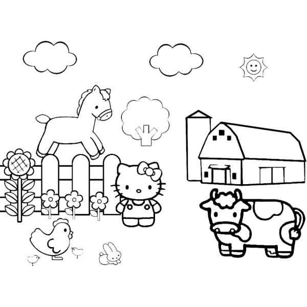 17 migliori idee su disegni da stampare e colorare per for Migliori piani di fattoria