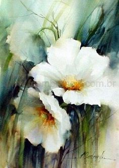 watercolor paintings of flowers - Google Search