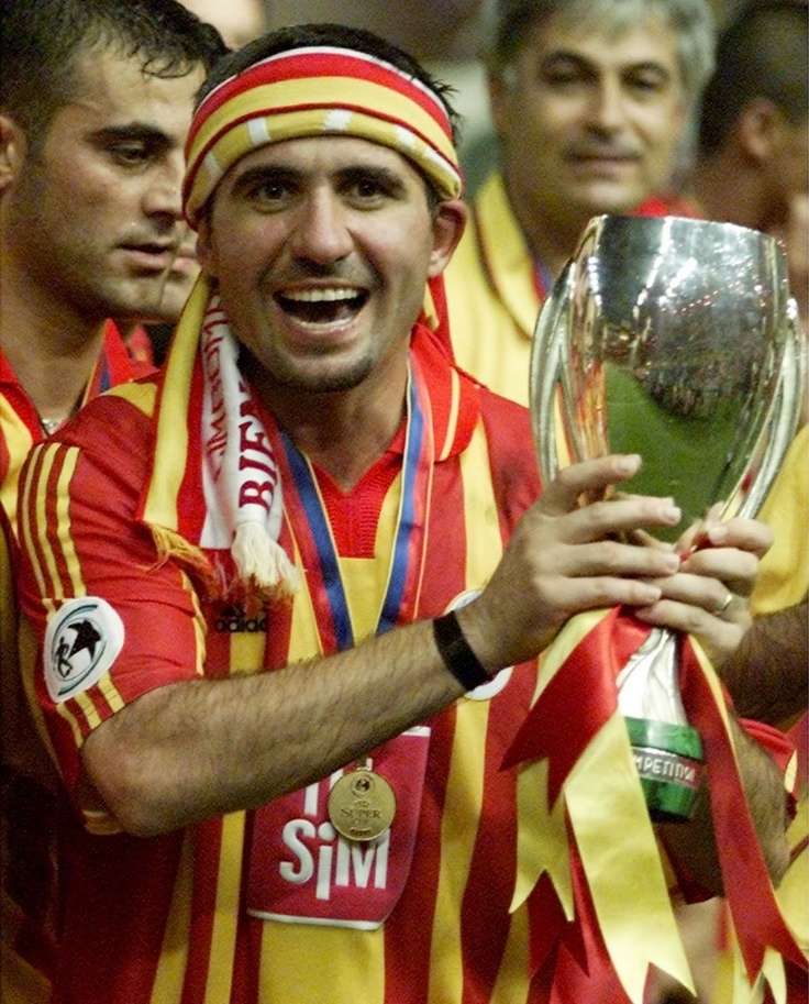 Gheorghe Hagi is a former Romanian footballer that gained international fame between the 1980s and 1990s. In Romania, he's been awarded the title of the best Romanian footballer multiple time. Even though his days as a football player are gone, he continues to inspire young Romanian footballers noways.