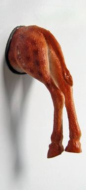 Giraffe. Grappig voor op de koelkast of voor op het memobord.- Pimp your fridge or whiteboard. Koelkastmagneten / Fridge magnets / Decoratie / Decoration | From Egypt and Holland with love