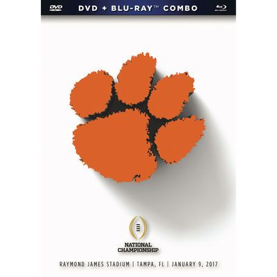 Clemson Tigers College Football Playoff 2016 National Champions DVD/Blu-Ray Combo Pack