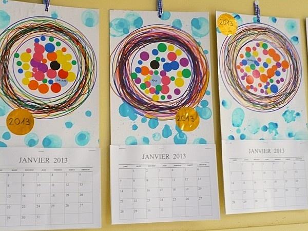 calendrier Kusama chez Christine G