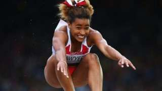 Olympic athlete Jazmin Sawyers abused on Twitter