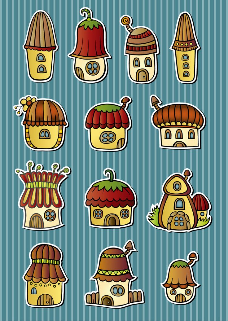 free vector Cartoon mushroom house  graphic available for free download at 4vector.com. Check out our collection of more than 180k free vector graphics for your designs. #design #freebies #vector