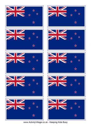 New Zealand Flag Printable