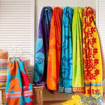 Bright Colored Beach Towels