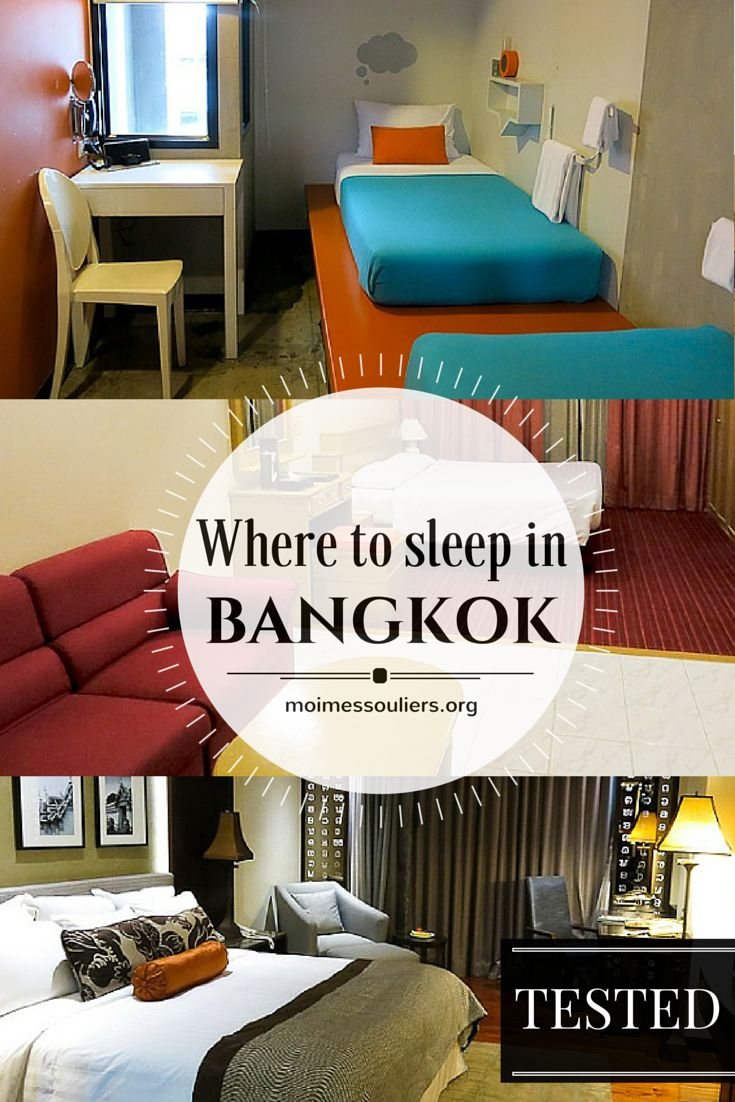 Whatever your type of adventure and the budget you have, you will find Bangkok accommodation that meets your needs. I tested a few places that will undoubtedly satisfy you!