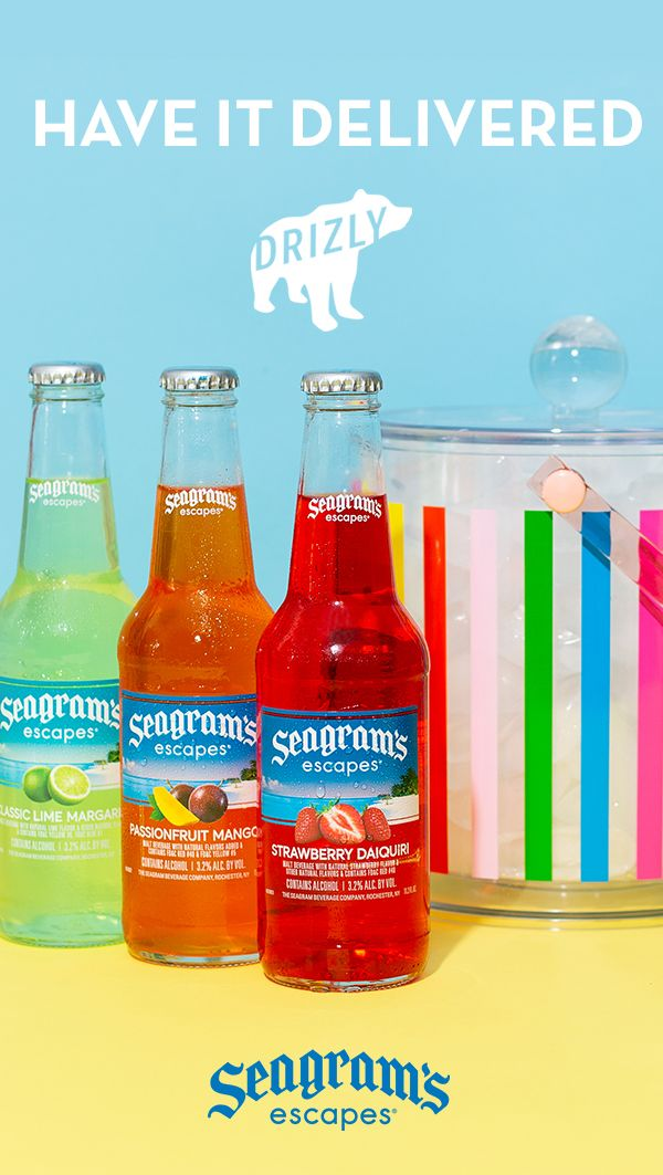 Seagram S Escapes At Your Door In 2020 Liquor Drinks Sparkling Water Drinks Tiki Drinks