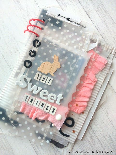 """Mini álbum """"the sweet things"""" (La aventura de los buhos)                                                                                                                                                                                 Más"""