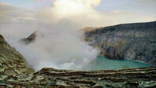 Ijen Crater, Bondowoso, East Java, Indonesia