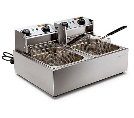 Euro-Chef Commercial Electric Deep Fryer 20L $190