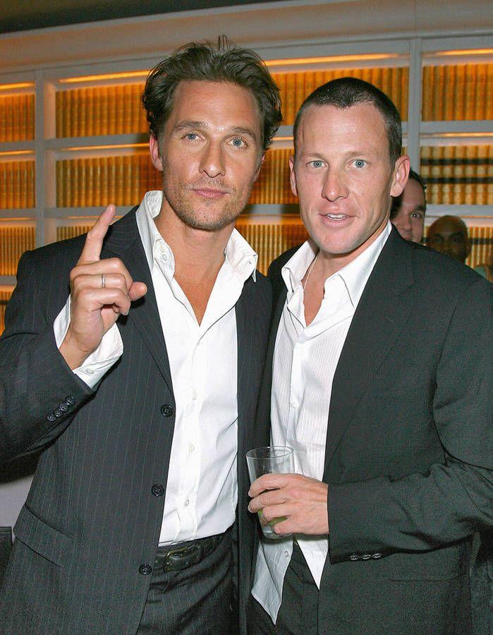 Lance Armstrong et Matthew McConaughey