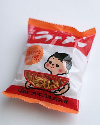 Japanese Food Packaging for Dried Ramen Noodle