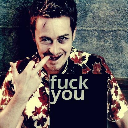 "Edward Norton in ""Fight Club"""