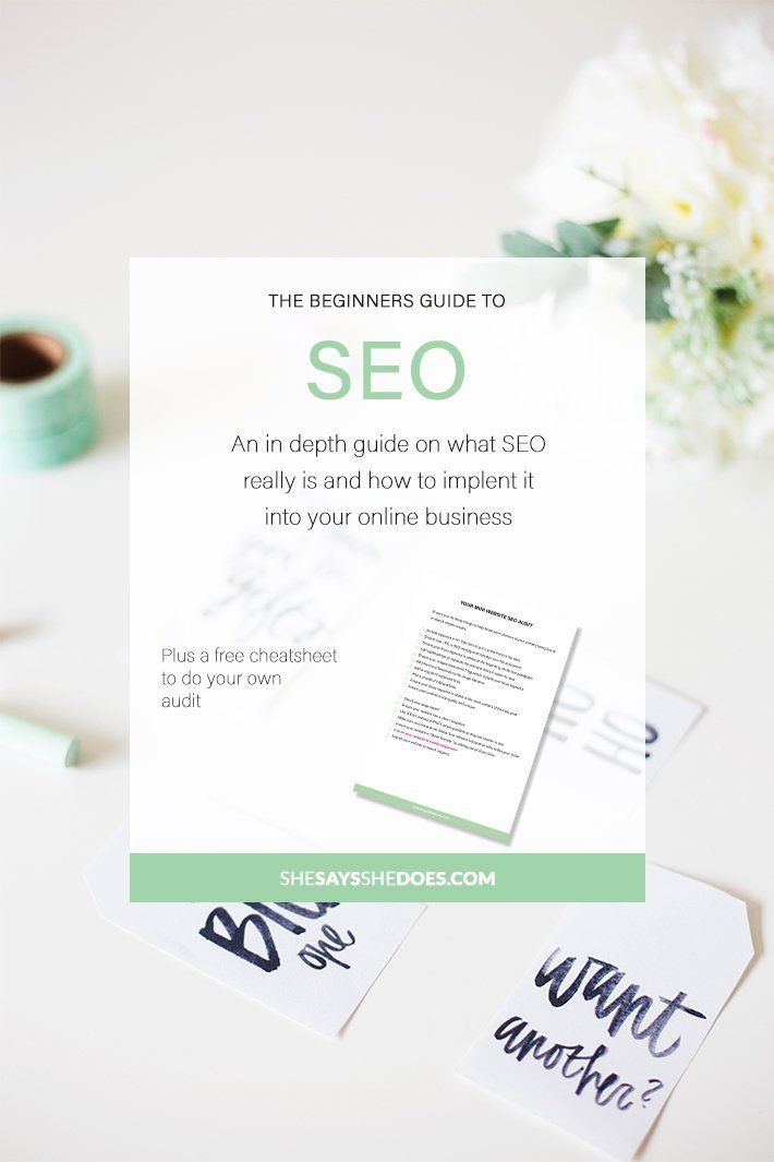 SEO doesn't have to be difficult. If you've just started blogging or started an online business, SEO is important if you want people to find you in search engines. I help demystify SEO for you and help you get started with a cheatsheet.