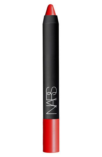NARS Velvet Matte Lipstick Pencil | rubbed onto lips with finger for a natural, stained look...