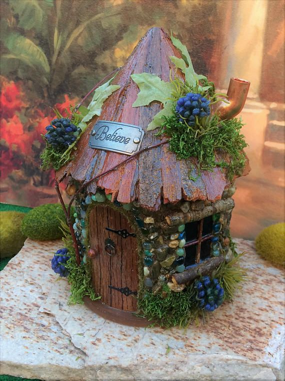 352 best Fairy Garden Inspiration. images on Pinterest | Fairies ...