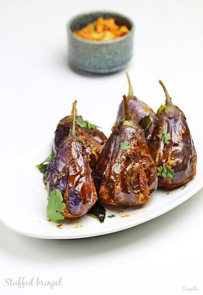stuffed brinjal fry recipe | gutti vankaya fry recipe