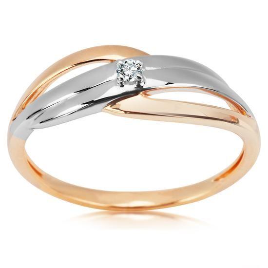 Pierścionek z Brylantem, 979PLN www.YES.pl/54394-pierscionek-z-brylantem-BB-Z-000-Y01-10307 #jewellery #gold #BizuteriaYES #shoponline #accesories #pretty #style