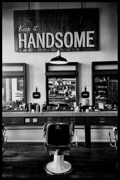 Keep it handsome...