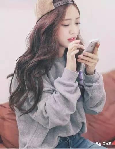 長發短髮都適合的韓國「微捲髮」自然甜美又輕巧! - 每日頭條