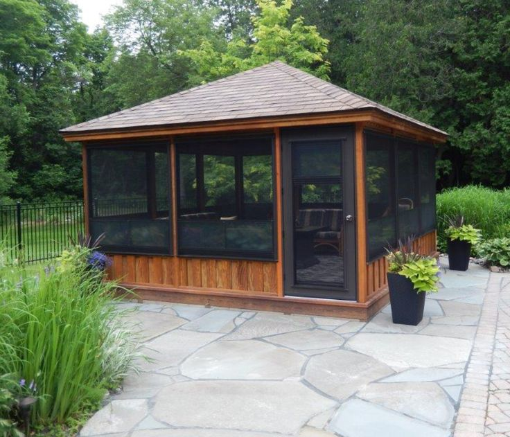 Backyard Gazebo Ideas backyard gazebo ideas Screened Gazebo Kits Decorative More