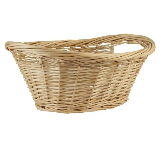 Large Natural Willow Laundry Basket By Ashland Michaels Laundry Basket Large Laundry Basket Basket