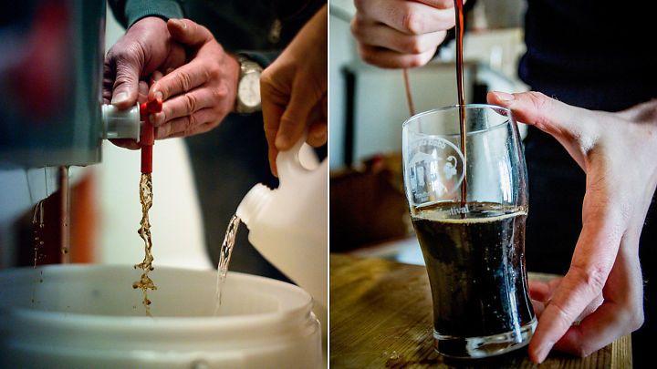 Ny trend: De brygger sitt eget øl