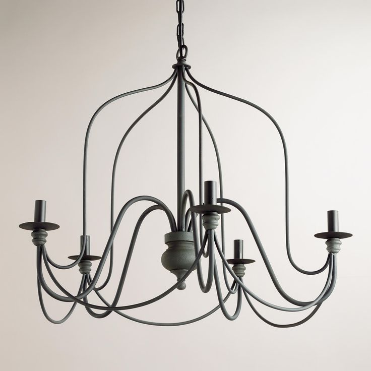Rustic Wire Chandelier | World Market