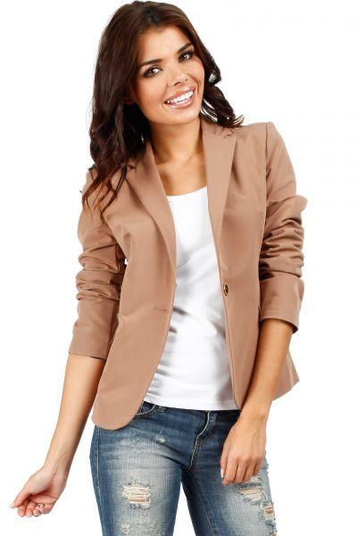 Matching blazer for women with cuffs