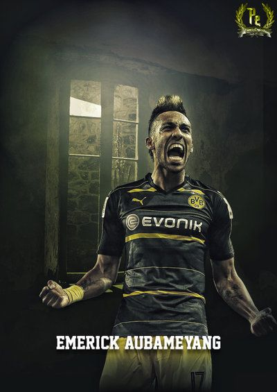 Pierre-Emerick Aubameyang by PanosEnglish.deviantart.com on @DeviantArt
