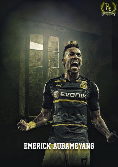 Pierre-Emerick Aubameyang Borussia Dortmund 2016-2017