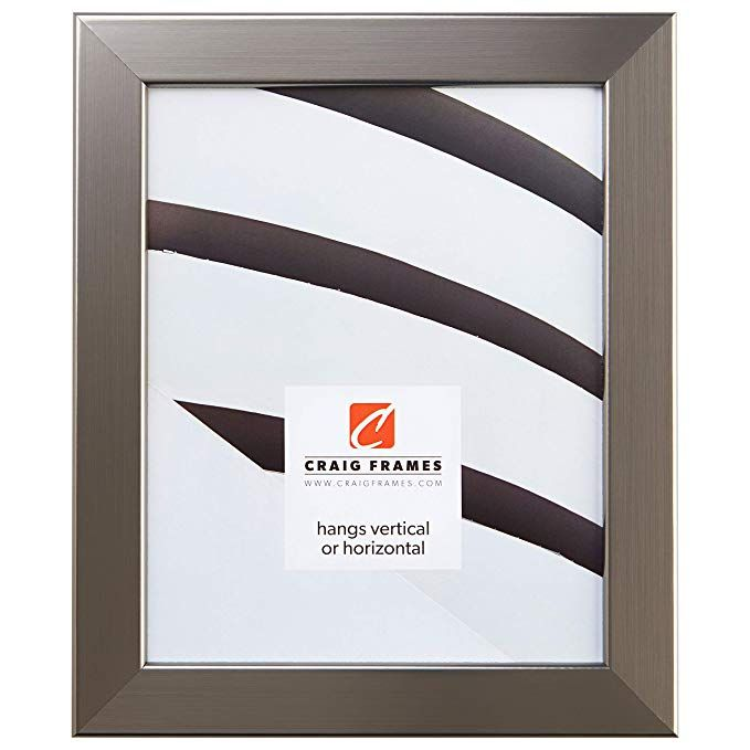 Craig Frames 26966 22 X 36 Inch Picture Frame Smooth Wrap Finish 1 26 Inch Wide Silver Stainless Review Barn Wood Picture Frames Wood Picture Frames Craig Frames