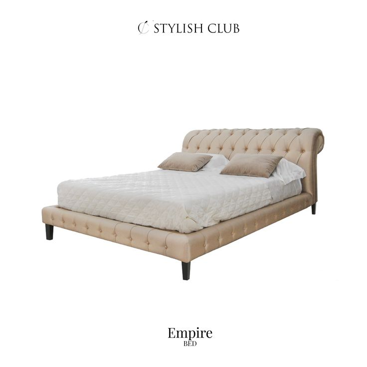 With this luxury designed bed from our Empire collection, you'll never want to get up in the morning.