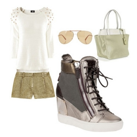 Wedge Sneakers - a collection by nmycloset | Lyst