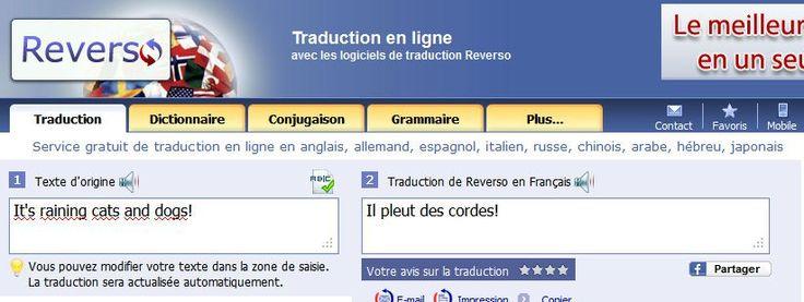 Reverso. Des outils linguistiques complets pour tous. #tice