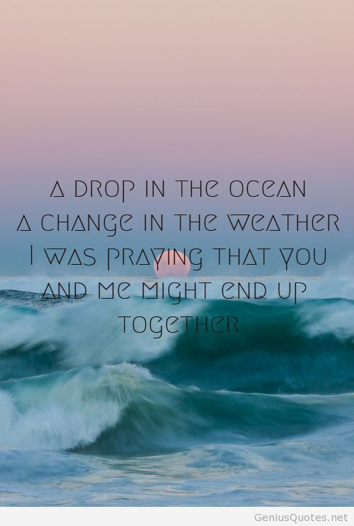 Ocean quote for summer
