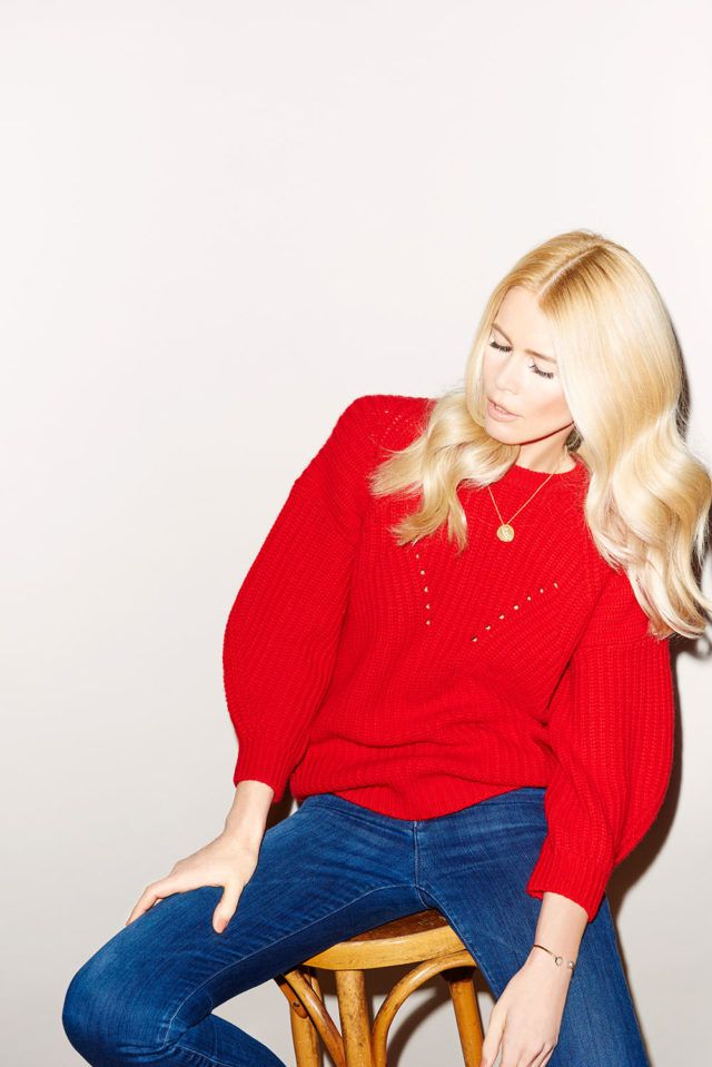 We fully support investing in a sweater from Claudia Schiffer's new line and…