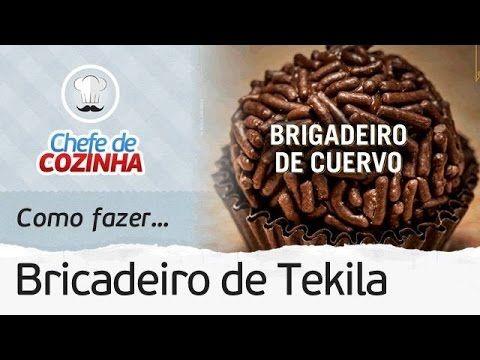 Como fazer Brigadeiro de Tekila | Receita: Chef Alex Granig - Blog Das Receitas