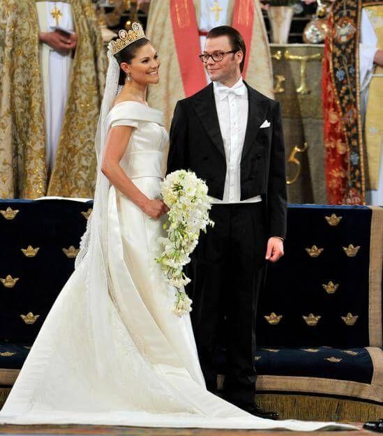 Am 19. Juni 2010 feierten Kronprinzessin Victoria von Schweden & Daniel Westling ihre Hochzeit
