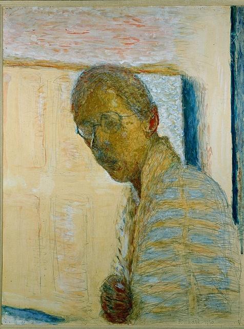Pierre Bonnard - Self-portrait in a mirror (1930)
