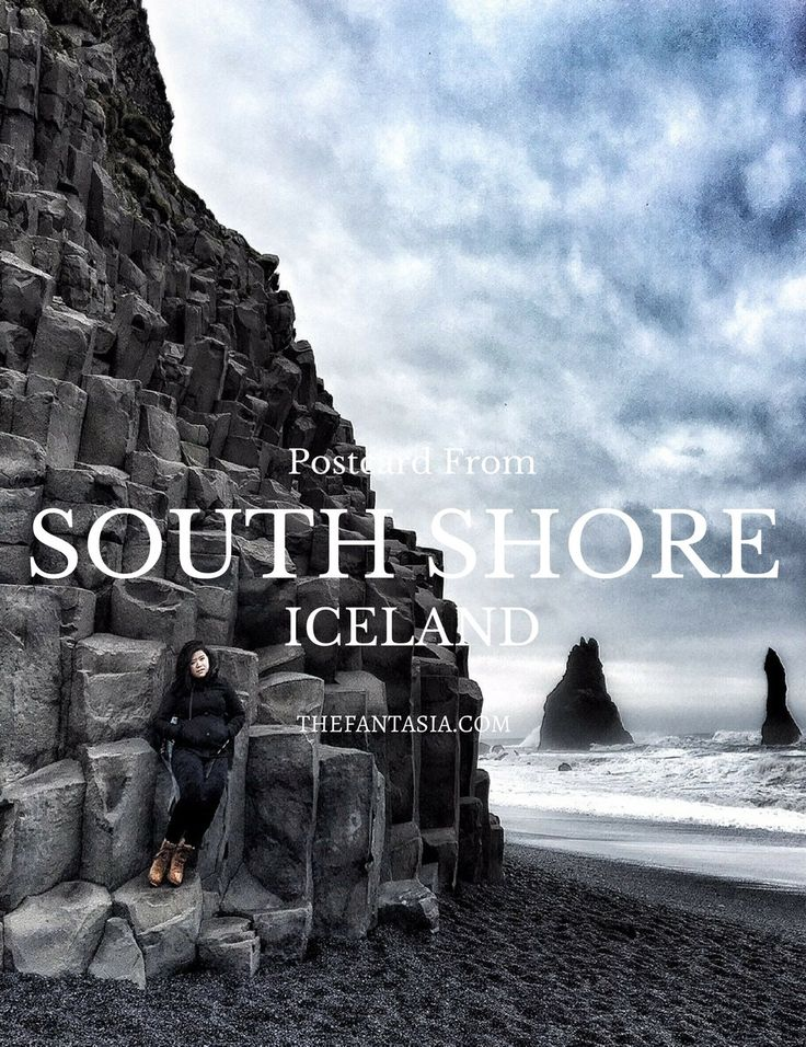 If Iceland has been on your travel bucket list, you'll want to see the South Shore with its dramatic facade and black beach!
