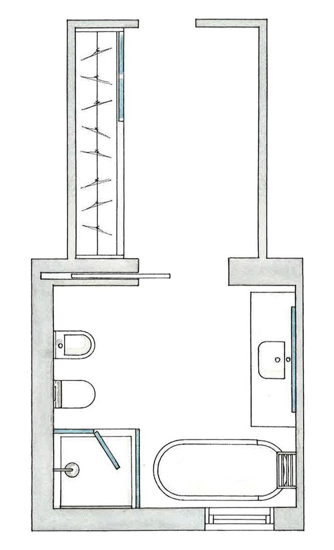 Baño Vestidor Planta:ideas sobre Planos De Planta De Casa en Pinterest