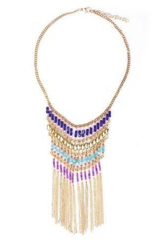 Zářivý náhrdelník  #necklace #modino_cz #modino_style #boho náhrdelník #doplnky #ModinoCZ