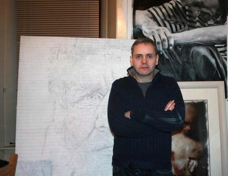 Incredible Artist Paul Cadden