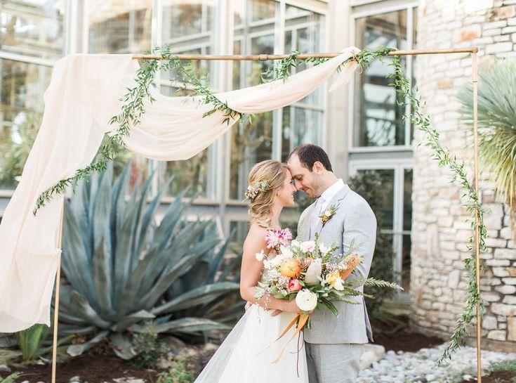 Southwestern Greenhouse Wedding Inspiration by Highland Avenue Events, @loftphoto @gypsyfloral @greenhouse850