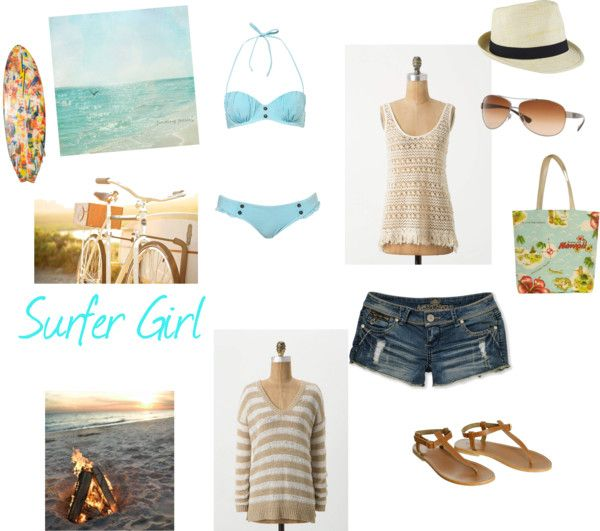 How To Dress Like A Surfer Girl | www.pixshark.com ...