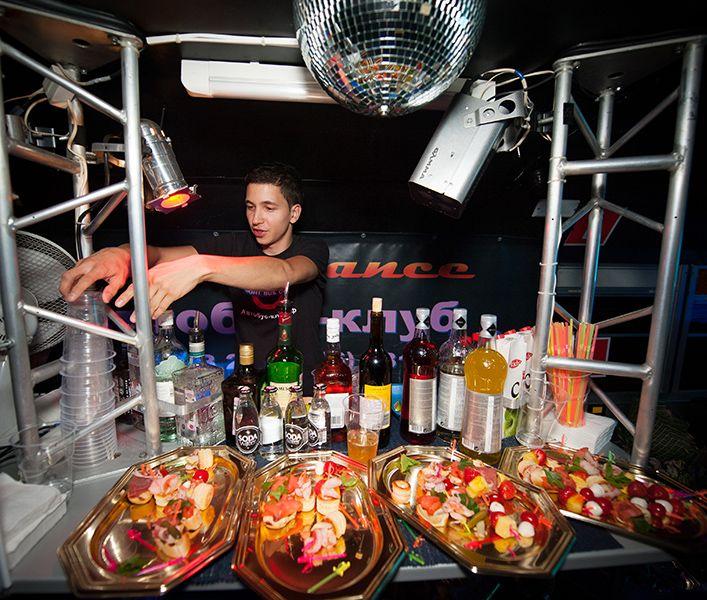PartyBus - NightBus - barmen